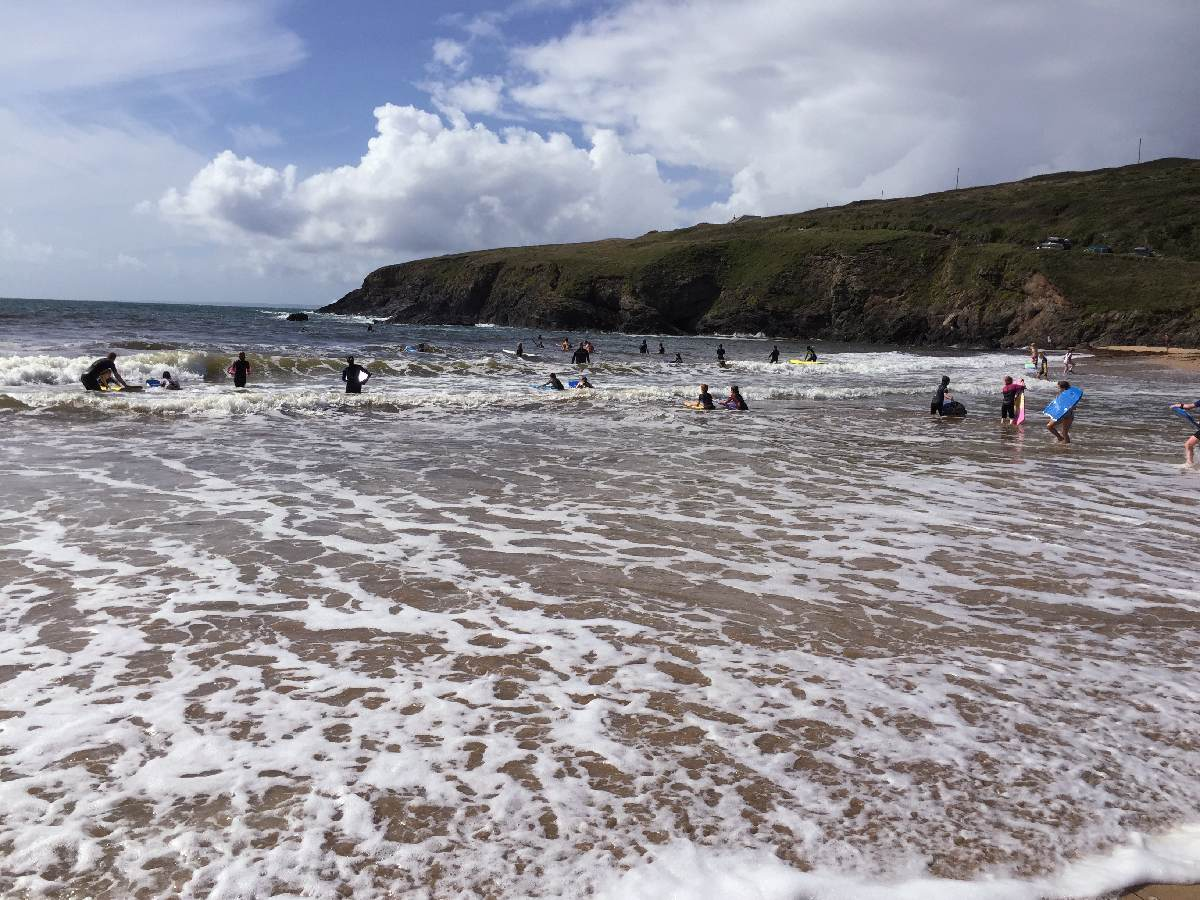 Forever Cornwall Poldhu Families Sea Swimming