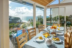 Forever Cornwall Polvenna Porthtowan Sunny Dining