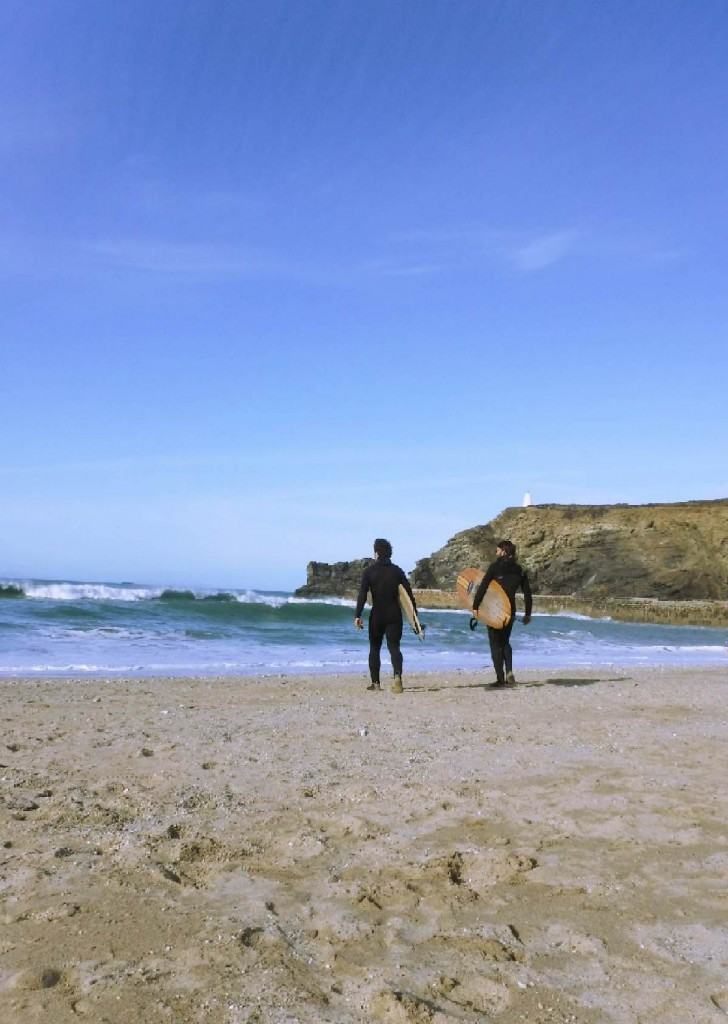 Forever Cornwall Portreath Surfers