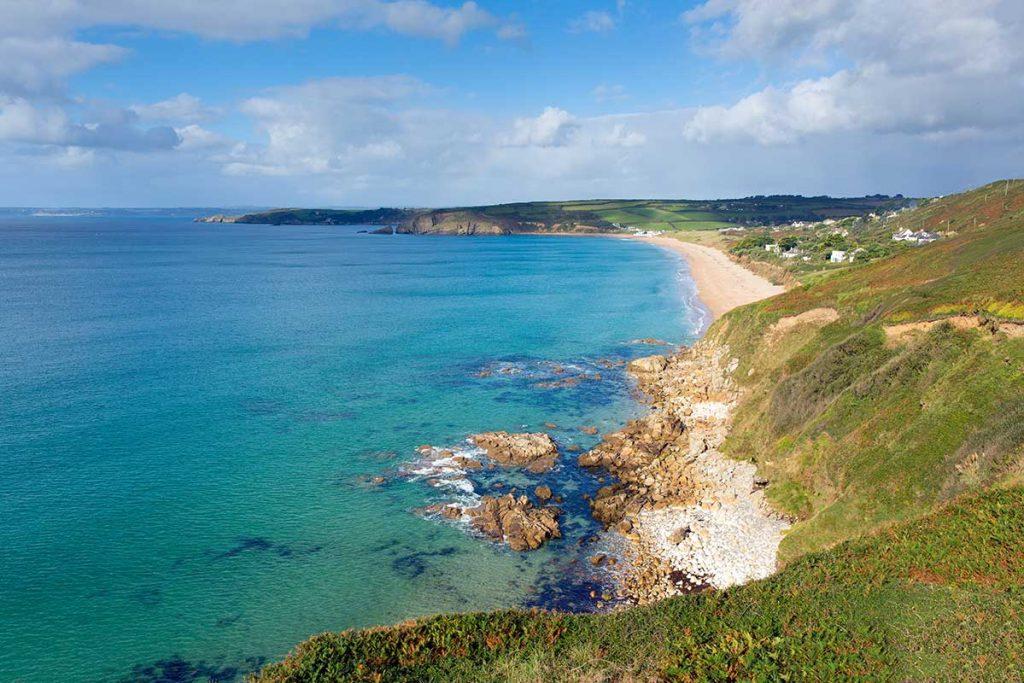 Forever Cornwall Praa Sands Beach Blue Sea.jpg