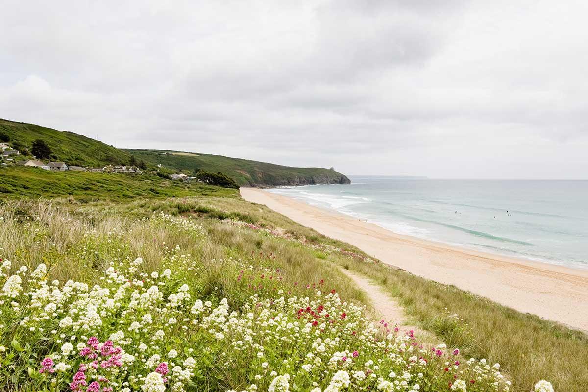 Forever Cornwall Praa Sands Flowers