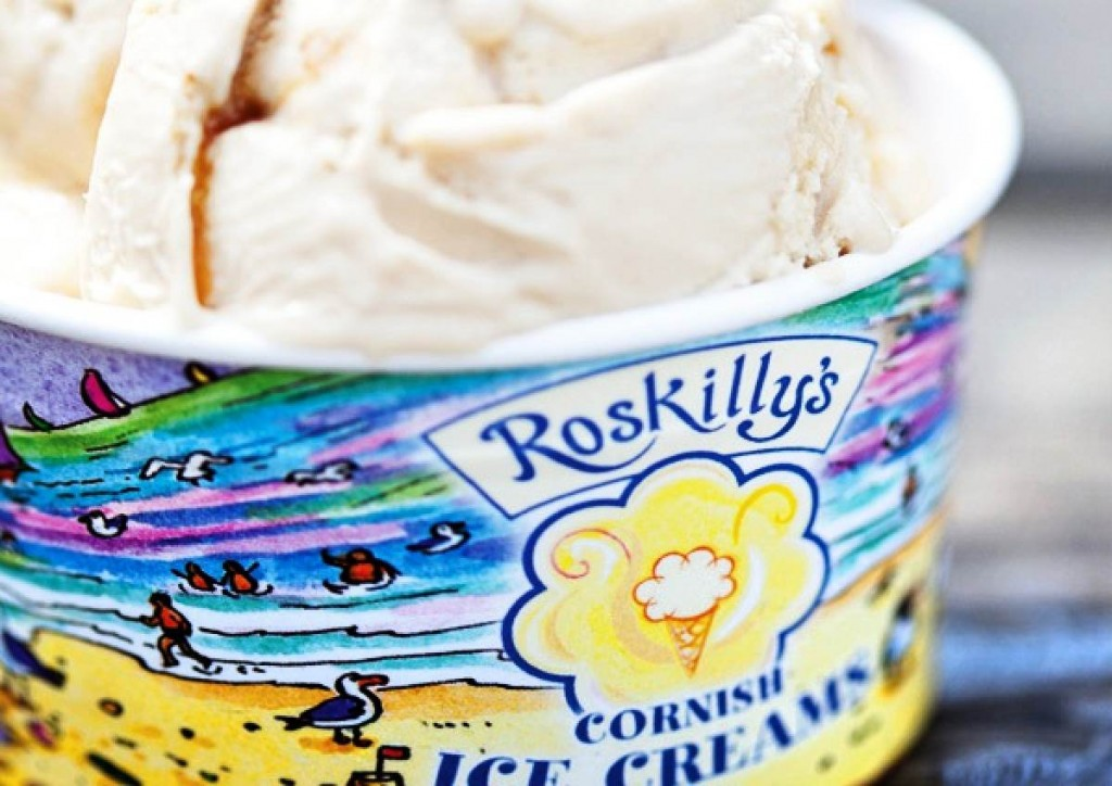 Forever Cornwall Roskillys Ice Cream Tub