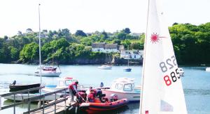 Forever Cornwall Sailaway Helford Boat Pontoon