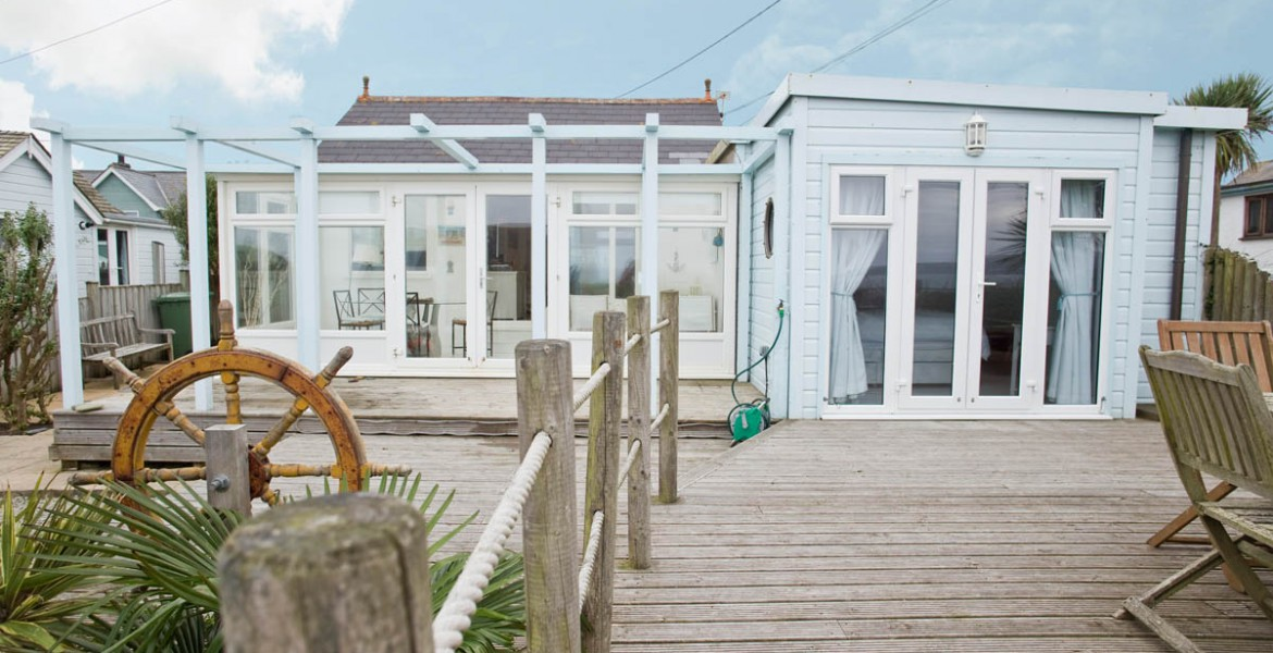 Forever Cornwall Sauveterre Anglais Beach Chalet Gwithian St Ives Bay 1