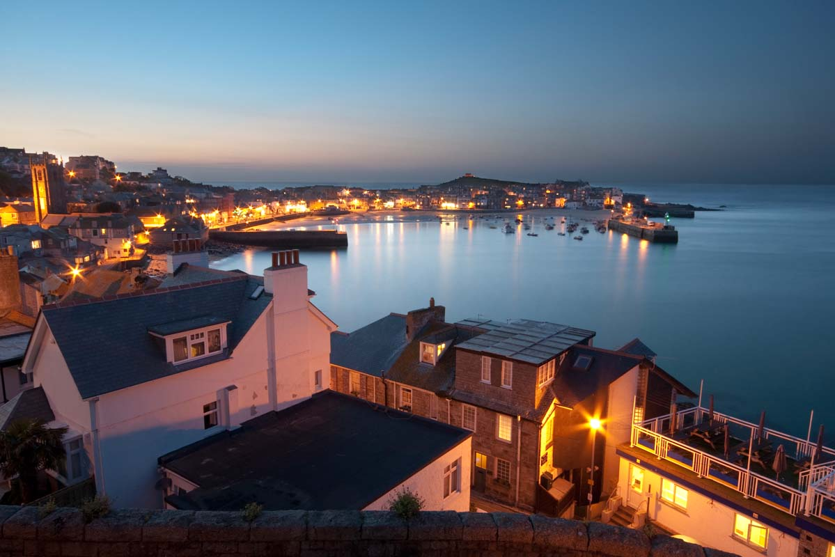 Forever Cornwall St Ives Evening