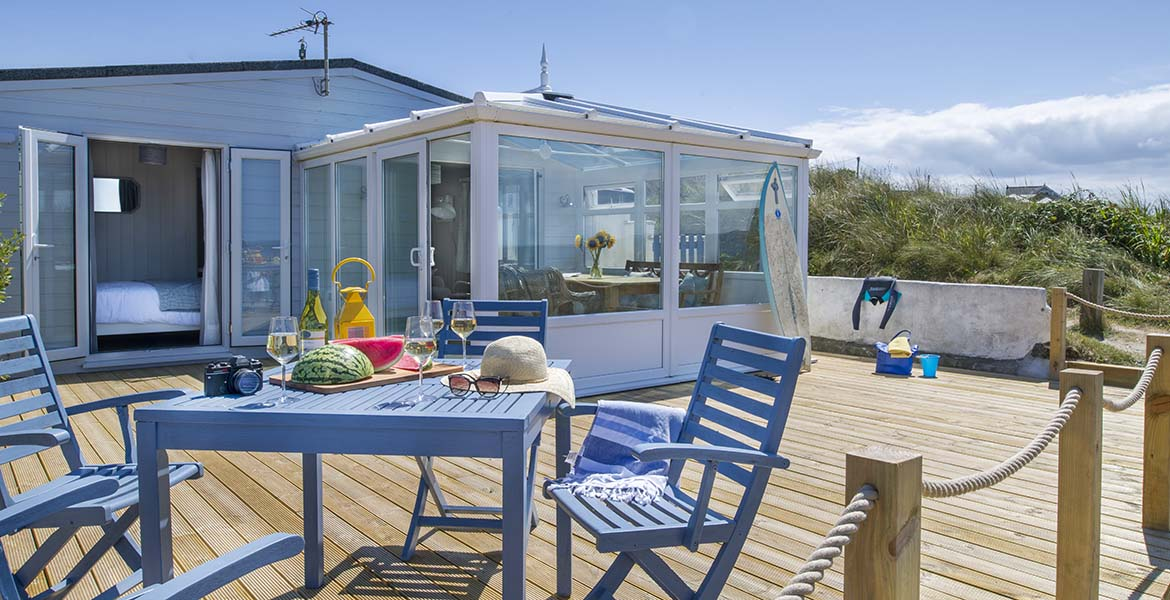 Forever Cornwall Surfside Beach Chalet Gwithian 1170x600