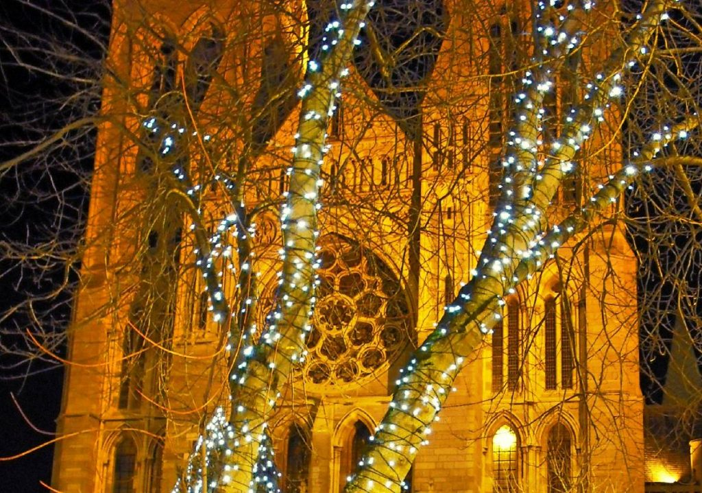 Forever Cornwall Truro Cathedral At Xmas