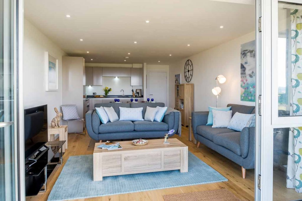Forever Cornwall Ultramarine Beach Apartment Lusty Glaze Newquay 14