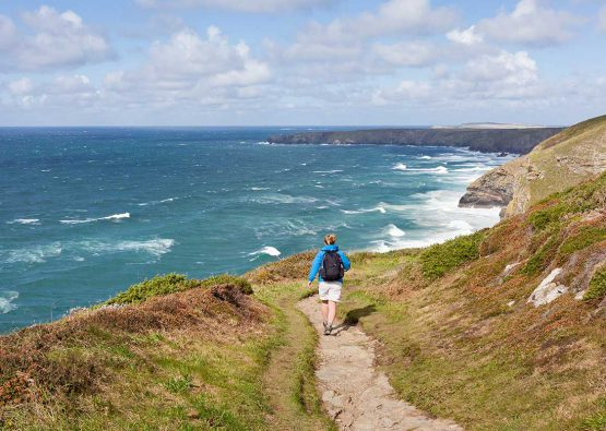 Walking holidays Cornwall coastal footpath Forever Cornwall