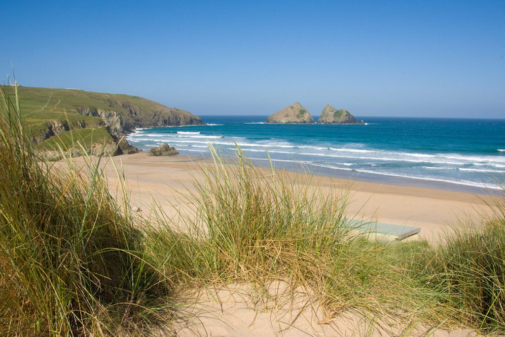 Holywell Bay Sand Dunes Forever Cornwall