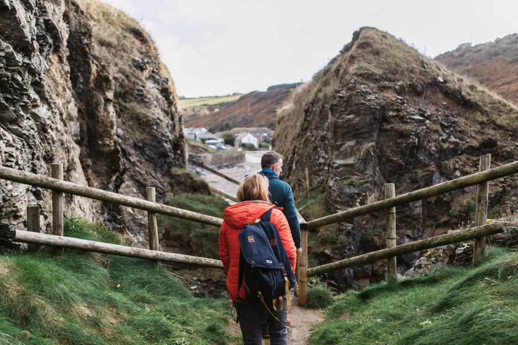 Walking Holidays in Port Gaverne Cornwall