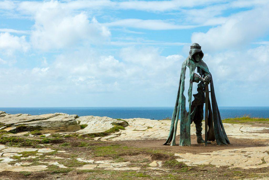 Matt Jessop VCL Statue Tintagel North Cornwall