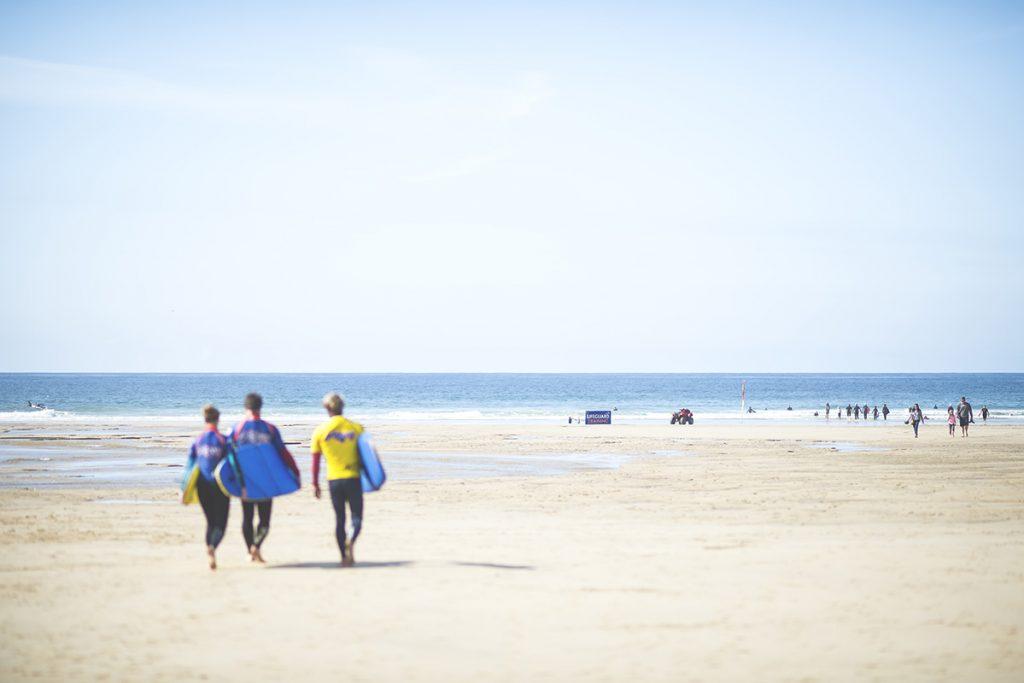 Mawgan Porth Surfers Beach