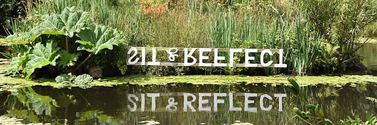 Sit & Reflect Tanglewood Gardens Penzance Cornwall