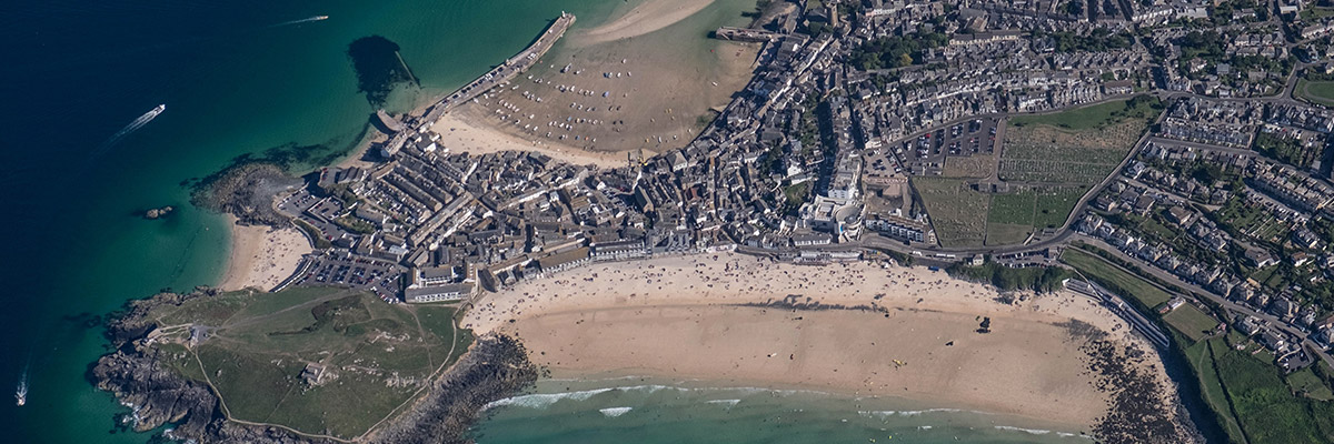 St Ives Aerial Photo Small