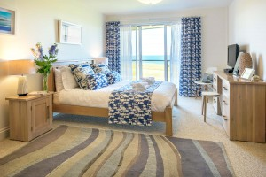 The Pearl Newquay Master Bed View