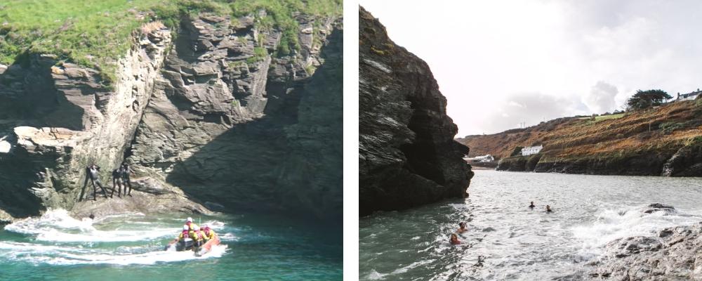 Tag's Pit Port Gaverne Cornwall