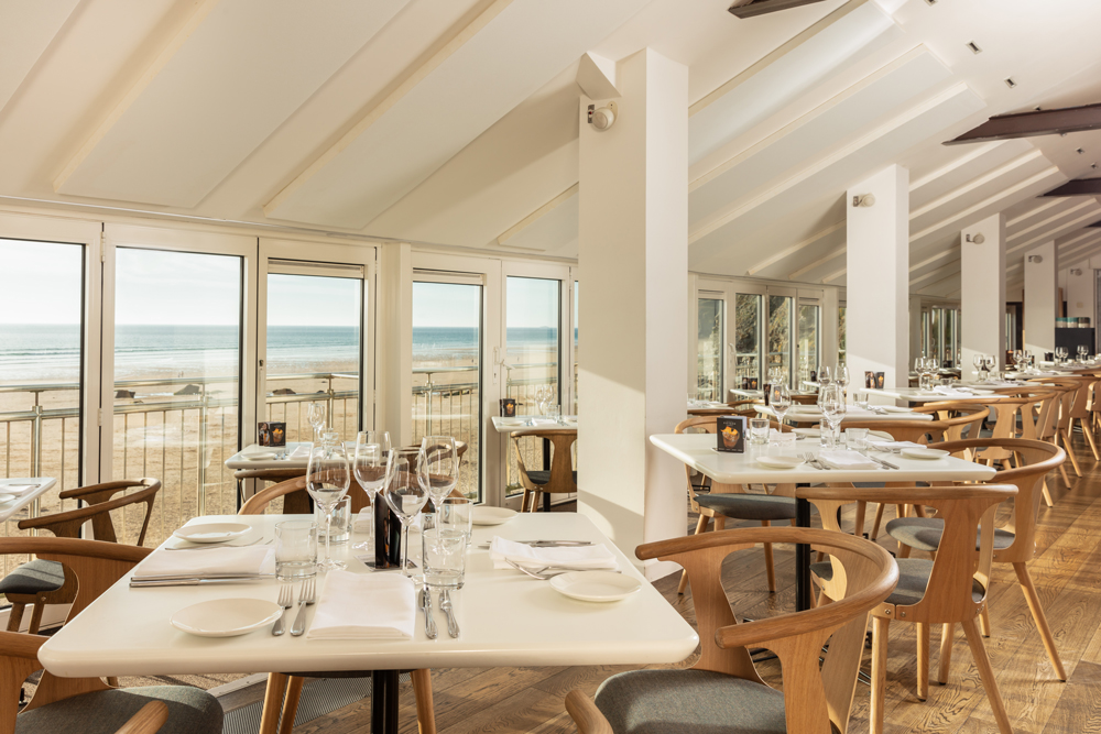 Fifteen Jamie Oliver Newquay Watergate Bay Cornwall